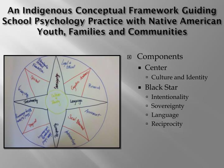 An Indigenous Conceptual Framework Guiding School Psychology Practice with Native American Youth, Families and Communities