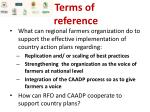 terms of reference1