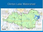 clinton lake watershed