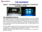 sm2020 customized medical germicidal ultraviolet sanitizing system
