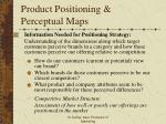 product positioning perceptual maps