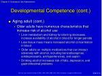 developmental competence cont1