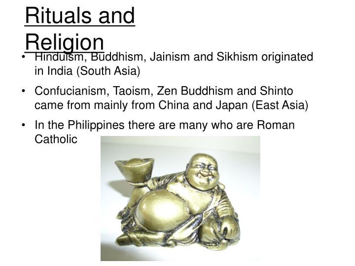 hinduism buddhism confucianism taoism shinto