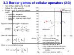 3 3 border games of cellular operators 2 3