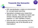 towards the semantic web