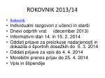rokovnik 2013 14