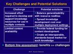 key challenges and potential solutions
