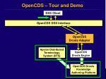 opencds tour and demo