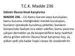t c k madde 236