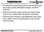 pengertian sop1