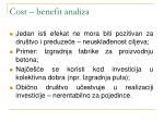 cost benefit analiza2