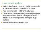 cost benefit analiza8