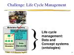 challenge life cycle management