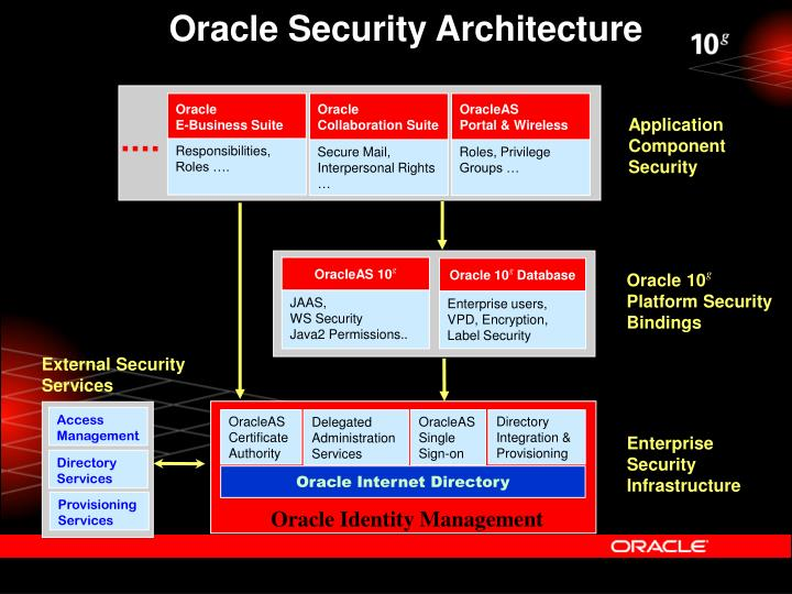 Oracle Security Architecture