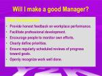 will i make a good manager1