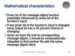 mathematical characteristics