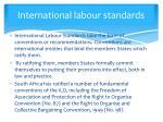 international labour standards