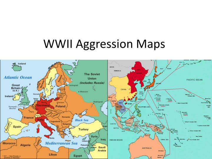 wwii aggression maps n.