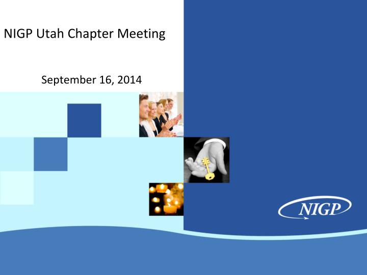 nigp utah chapter meeting n.