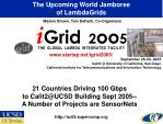 the upcoming world jamboree of lambdagrids