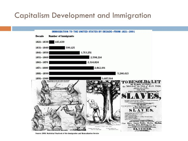 Capitalism Development and Immigration