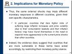 2 implications for monetary policy4