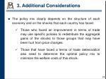 3 additional considerations2