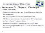 organization of congress6