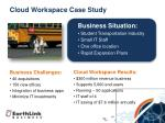 cloud workspace case study