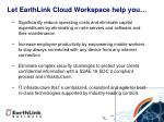 let earthlink cloud workspace help you