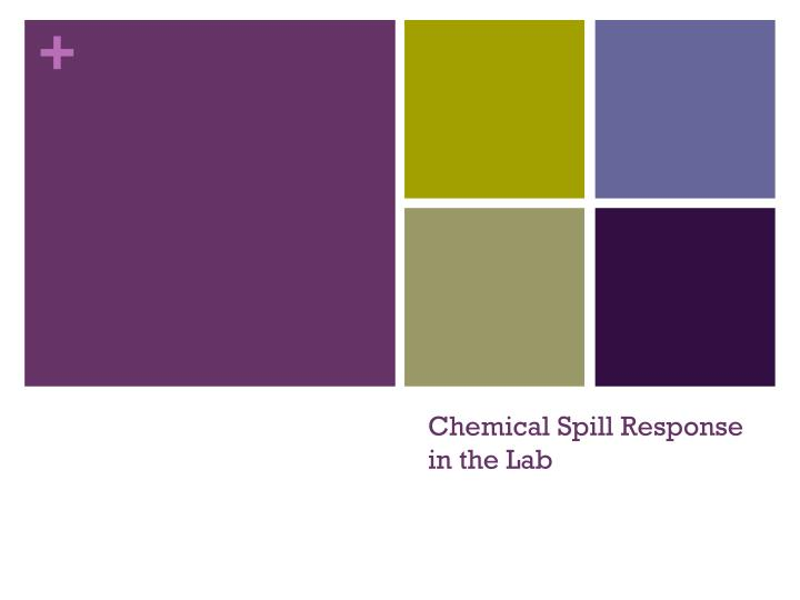 chemical spill response in the lab n.