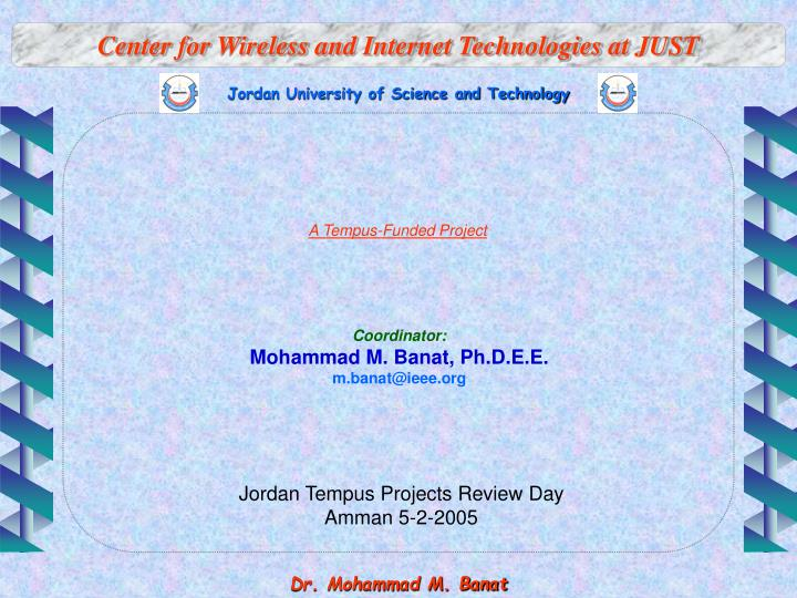 center for wireless and internet technologies at just n.