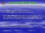 learning skills tasks1