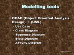 modelling tools1