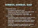 simbol simbol dad3