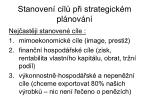 stanoven c l p i strategick m pl nov n1