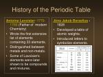 history of the periodic table1
