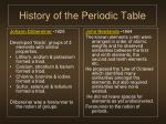 history of the periodic table2