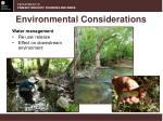 environmental considerations2