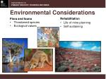 environmental considerations3