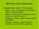 warren court decisions1