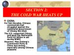 section 2 the cold war heats up