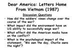 dear america letters home from vietnam 1987