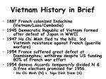 vietnam history in brief