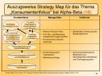 auszugsweise strategy map f r das thema konsumentenfokus bei alpha beta 16