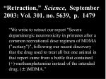 retraction science september 2003 vol 301 no 5639 p 1479