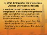 6 what distinguishes the international christian churches continued2