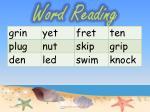 word reading1