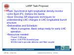 larp task proposal
