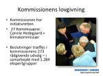 kommissionens lovgivning